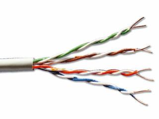 APC 24awg 4X2X1/0.50 COPPER Cable UTP Cat.5E