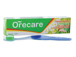 """Зубная паста """"Orecare"""" с экстрактами китайских целебных трав"""
