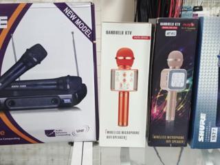 Радиомикрофоны и беспроводные караоке микрофоны