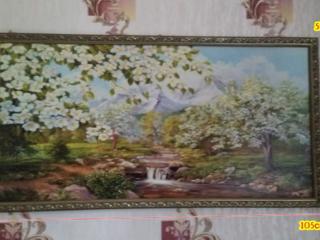 Продается картина в рамке, 105см на 55см. Цена договорная