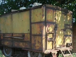 Продается военный вагончик на колесах
