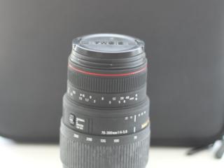 Телеобъектив Sigma AF 70-300mm f/4-5.6 APO DG MACRO