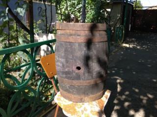 Бочка дубовая 50 литров, канистра металлическая 20 литров
