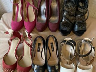 Все 7 пар всего за 3500л.! Шикарная кожаная брендовая обувь 36 р. - 35