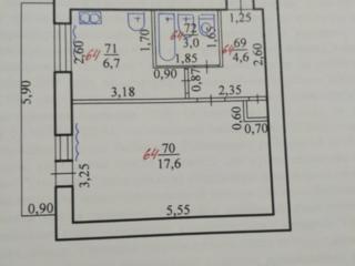 Обмен 1комнатной квартиры на 2х комнатную с доплатой.