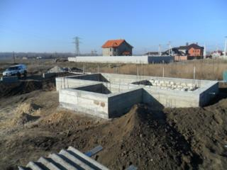 Строящийся дом район НИИ (пер. Парниковый)