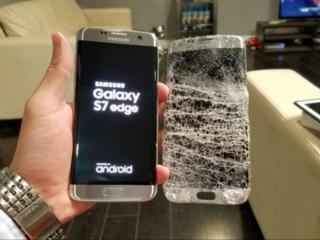 Samsung galaxy s7 edge замена дисплея, стекла. Лучшая цена в городе