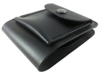 Небольшой кошелек с монетницей из натуральной кожи