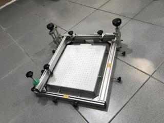 Печатный стол для шелкографии с вакуумным прижимом
