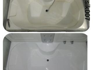 Реставрация ванн Жидким Акрилом, Restaurarea cazilor de baie