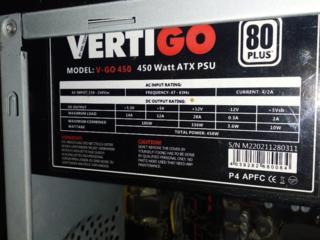 Блок питания на 450 W VERTIGO ATX