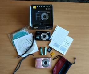 Продам два цифровых фотоаппарата Nikon и Olimpus