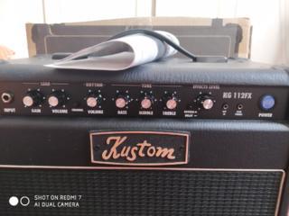 Комбик для электрогитары/акустик Kustom 20W со встроенной перегрузкой.