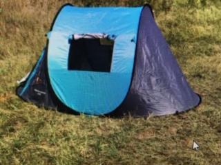 Палаткa на 2-3 человека быстрооткрывающаяся ультралегкая новая