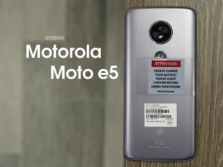 Motorola Moto e5 (CDMA). Всего за 1635р! Свежая новинка! Батарея 4000!