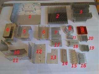 Продам радиаторы от компьютера и различных плат.