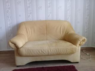 Софа +2 кресла кожа Германия