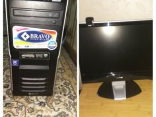 Продам монитор с системником, клавиатурой и мышкой(всё рабочее)
