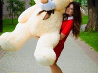 Огромный медведь напрокат. 2м