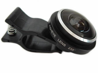 Линза для телефона 235 Super Fisheye Photo Lens
