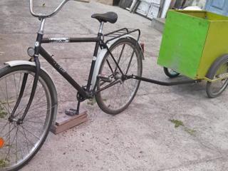 Велосипед с прицепом. Недорого