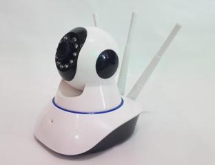 IP WiFi-камера PTZ- 3 антенны поворотная, видеонаблюдения, ночная съе