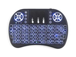 Беспроводная клавиатура на аккумуляторе с подсветкой