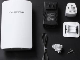 Репитер, точка доступа, усилитель Wi-Fi на 500 метров 2.4GHz и 5.8GHz
