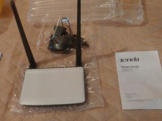 Роутер - маршрутизатор Tenda N300 - 2.4GHz