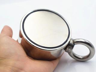 Неодимовый магнит - поисковой с крючком