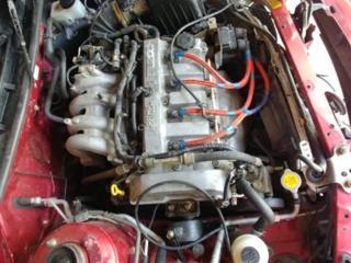 Двигатель и коробка передач от Мазда 626 GF рестайлинг!!!!