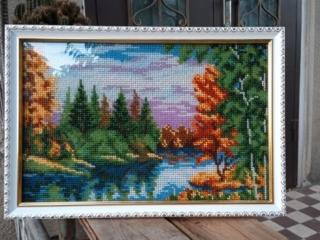 Продам вышитую бисером картину