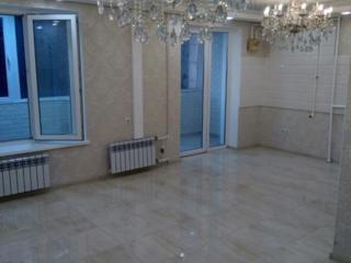 Продам квартиру с евро-ремонтом, столовая, кабинет. Общая - 96 кв. м.