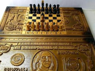 Нарды резные шахматы*Сто Долларов*эксклюзив