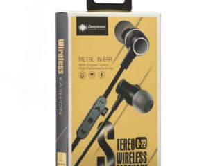 Беспроводная Bluetooth-гарнитура Deepbass D-22 Black