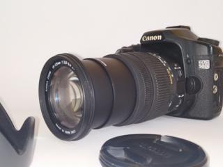 Продаю!!! Canon 50d + Sigma DC 18-125mm 3.8/5.6 HSM +рюкзак, ремни...