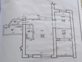 Продаётся 3 комнатная квартира Белый вариант