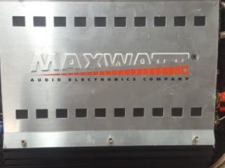 Усилитель Maxwatt Срочно!! 700 руб