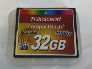 Карта памяти Transcend Compact Flash 32gb 1000x