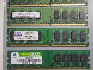 DDR2 по 1Gb и 2Gb 800mhz. Hynix, Corsair. Гарантия.