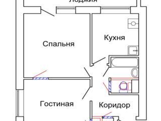 Куплю 2х комнатную квартиру