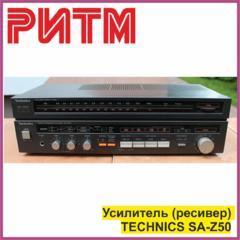 """Усилитель (ресивер) TECHNICS SA-Z50 в м. м. """"РИТМ"""""""