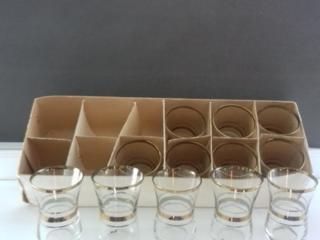 Набор рюмок(12 штук)- новый, 70 лей