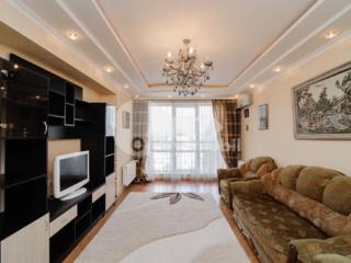 Se oferă spre chirie un apartament excelent, spațios, design ...