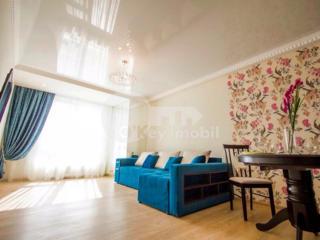 Vă prezentăm un apartament spre chirie, cu 2 camere. Situat în ...