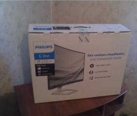 Продам новый изогнутый монитор Philips 248E9QHSB/00