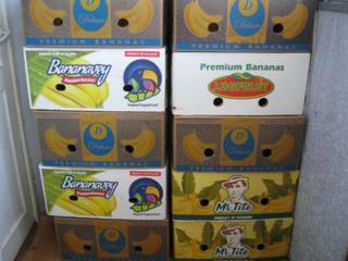 Банановые коробки. Cutii banane. Пластмассовые Ящики, Тара, Lazi, Ladi