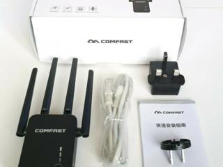 Репитер COMFAST двухдиапазонный усилитель WiFi 2.4GHz/5.8GHz repeater
