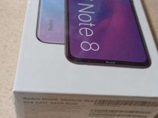 Продам Redmi Note 8 4/64 Neptune Blue новый в упаковке
