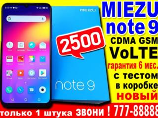 Meizu Note 9 Black НОВЫЙ в пленках 4/64 CDMA/VoLTE/GSM с тестом ИДК